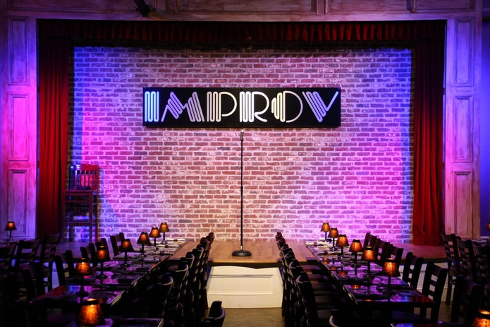 Photo of an Improv Stage